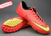 Giày đá bóng Nike Mercurial V TF Đỏ Vàng gia re. Random