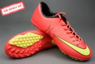 Giày đá bóng Nike Mercurial V TF Đỏ Vàng tai ha noi. Random
