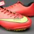 Giày đá bóng Nike Mercurial V TF Đỏ Vàng_small_1