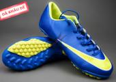 Giày bóng đá Nike Mercurial V TF Xanh Vàng gia re tai ha noi. xem nhieu