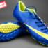 Giày bóng đá Nike Mercurial V TF Xanh Vàng_small_0