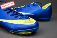 Giày bóng đá Nike Mercurial V TF Xanh Vàng gia re. Xem nhieu